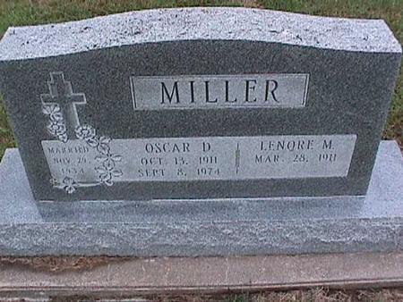 MILLER, LENORE - Washington County, Iowa | LENORE MILLER