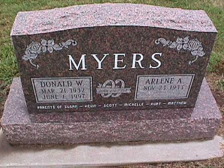 MYERS, ARLENE A. - Washington County, Iowa | ARLENE A. MYERS