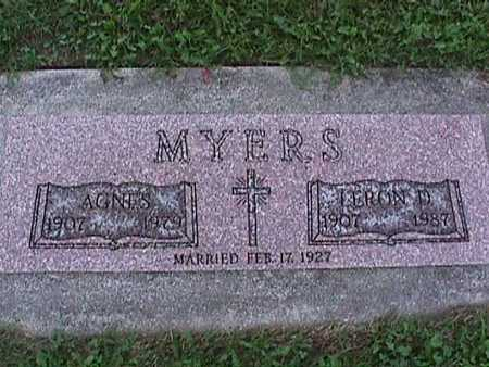 MYERS, AGNUS - Washington County, Iowa | AGNUS MYERS