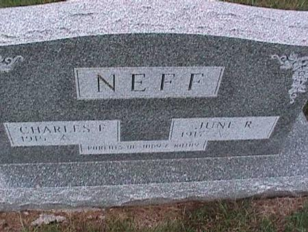NEFF, JUNE - Washington County, Iowa | JUNE NEFF