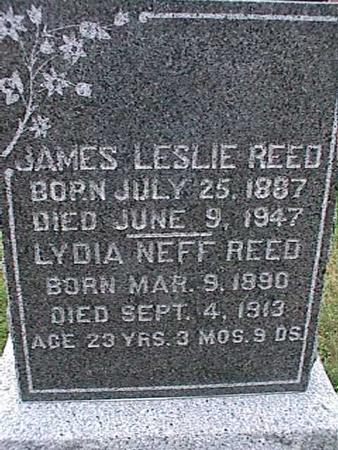 REED, LYDIA - Washington County, Iowa | LYDIA REED