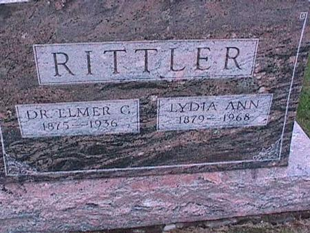 RITTLER, ELMER - Washington County, Iowa | ELMER RITTLER