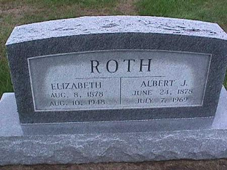 ROTH, ALBERT - Washington County, Iowa | ALBERT ROTH