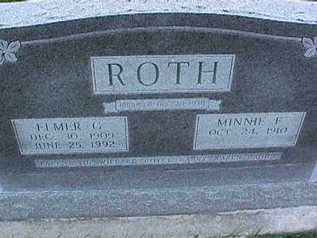 ROTH, ELMER - Washington County, Iowa | ELMER ROTH