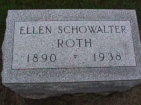 SCHOWALTER ROTH, ELLEN - Washington County, Iowa | ELLEN SCHOWALTER ROTH