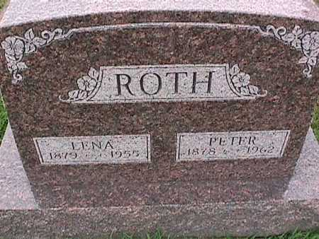 ROTH, LENA - Washington County, Iowa | LENA ROTH