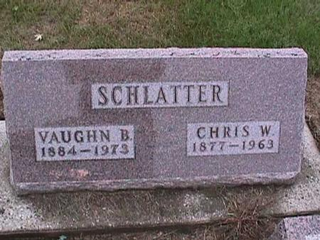 SCHLATTER, VAUGHN - Washington County, Iowa | VAUGHN SCHLATTER