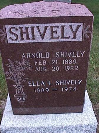 SHIVELY, ELLA - Washington County, Iowa | ELLA SHIVELY