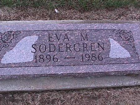 SODERGREN, EVA - Washington County, Iowa | EVA SODERGREN