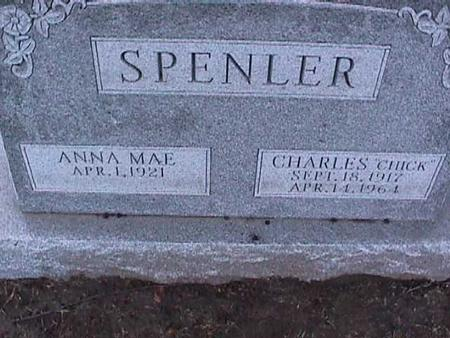 SPENLER, ANNA MAE - Washington County, Iowa | ANNA MAE SPENLER