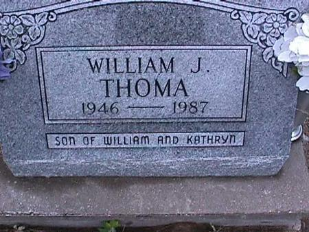 THOMA, WILLIAM J. - Washington County, Iowa | WILLIAM J. THOMA