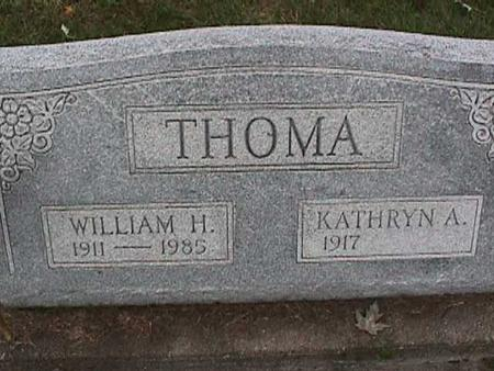 THOMA, KATHRYN - Washington County, Iowa | KATHRYN THOMA