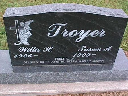 MILLER TROYER, SUSAN - Washington County, Iowa | SUSAN MILLER TROYER