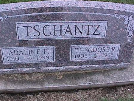 TSCHANTZ, ADALLINE - Washington County, Iowa | ADALLINE TSCHANTZ