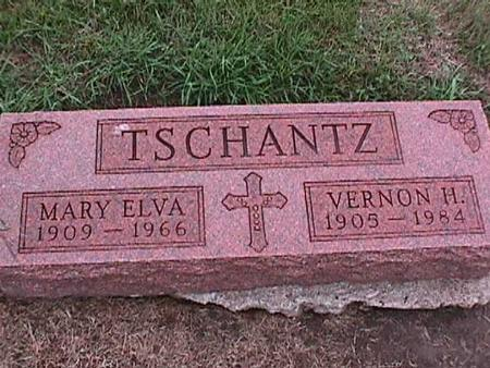 TSCHANTZ, MARY ELVA - Washington County, Iowa | MARY ELVA TSCHANTZ