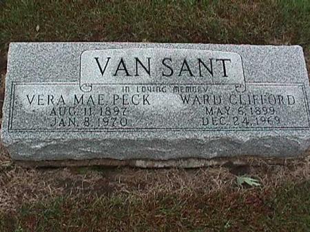 VANSANT, VERA MAE - Washington County, Iowa | VERA MAE VANSANT