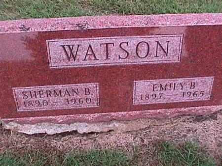 WATSON, EMILY - Washington County, Iowa | EMILY WATSON