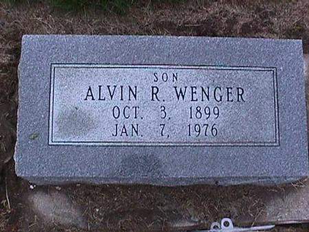 WENGER, ALVIN - Washington County, Iowa | ALVIN WENGER