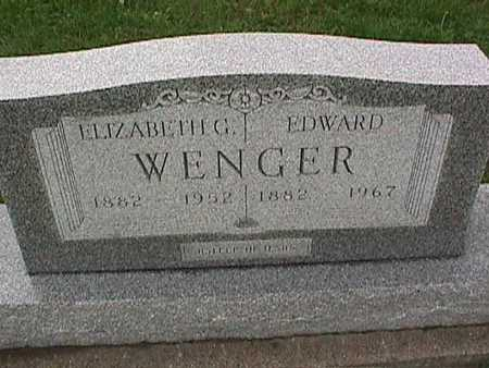 WENGER, EDWARD - Washington County, Iowa | EDWARD WENGER