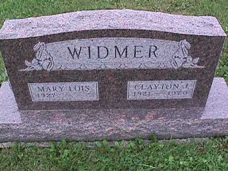 WIDMER, MARY LOIS - Washington County, Iowa | MARY LOIS WIDMER