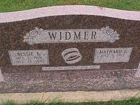 WIDMER, MAYNARD - Washington County, Iowa | MAYNARD WIDMER