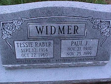 WIDMER, PAUL - Washington County, Iowa | PAUL WIDMER