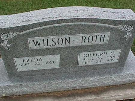 WILSON-ROTH, FREDA - Washington County, Iowa | FREDA WILSON-ROTH