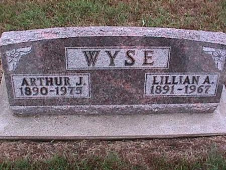WYSE, LILLIAN - Washington County, Iowa | LILLIAN WYSE