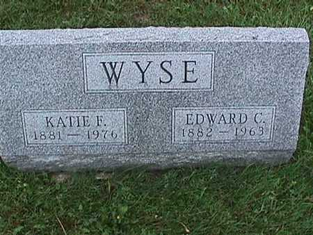 WYSE, EDWARD - Washington County, Iowa | EDWARD WYSE