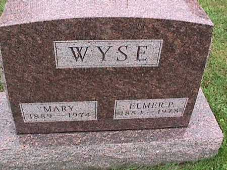 WYSE, MARY - Washington County, Iowa | MARY WYSE
