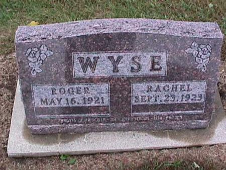 WYSE, ROGER - Washington County, Iowa | ROGER WYSE