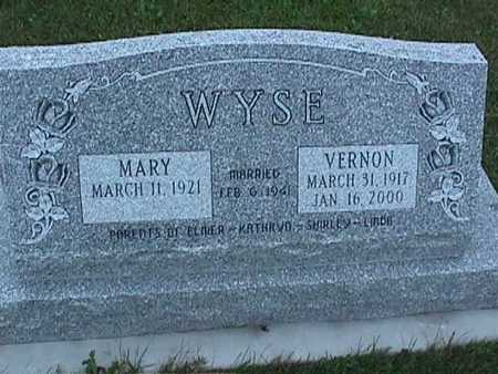 WYSE, VERNON - Washington County, Iowa | VERNON WYSE