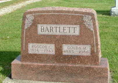 BARTLETT, ROSCOE C. - Washington County, Iowa | ROSCOE C. BARTLETT