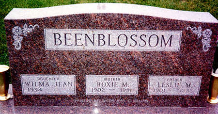 BEENBLOSSOM, LESLIE MORTIMER - Washington County, Iowa | LESLIE MORTIMER BEENBLOSSOM