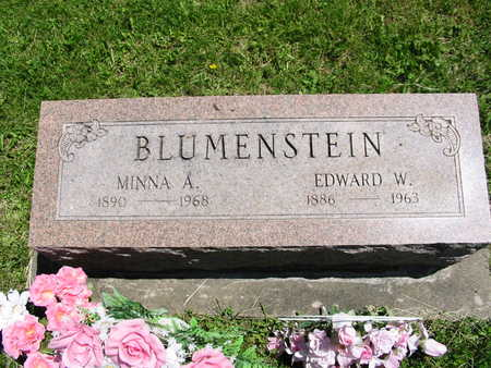 PERRIN BLUMENSTEIN, MINNIE - Washington County, Iowa | MINNIE PERRIN BLUMENSTEIN