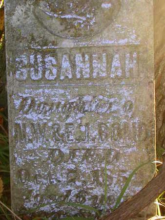 BOND, SUSANNAH - Washington County, Iowa | SUSANNAH BOND