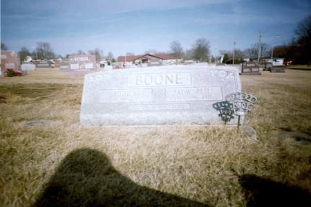 BOONE, EDITH L. - Washington County, Iowa | EDITH L. BOONE