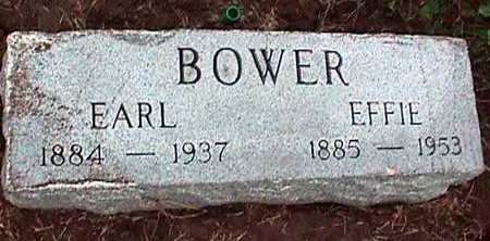 BOWER, L. EARL - Washington County, Iowa | L. EARL BOWER