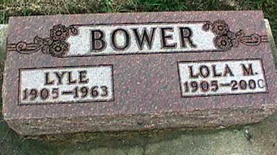 BOWER, LOLA MAE - Washington County, Iowa | LOLA MAE BOWER