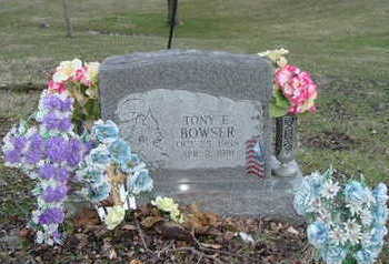 BOWSER, TONY E. - Washington County, Iowa | TONY E. BOWSER
