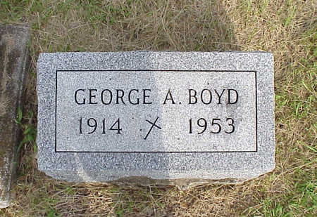 BOYD, GEORGE A - Washington County, Iowa | GEORGE A BOYD