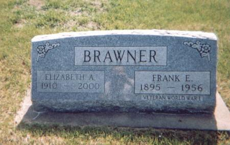 BRAWNER, FRANK E. - Washington County, Iowa | FRANK E. BRAWNER