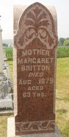 BRITTON, MARGARET - Washington County, Iowa | MARGARET BRITTON