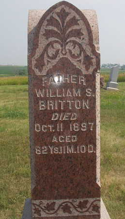 BRITTON, WILLIAM S - Washington County, Iowa | WILLIAM S BRITTON