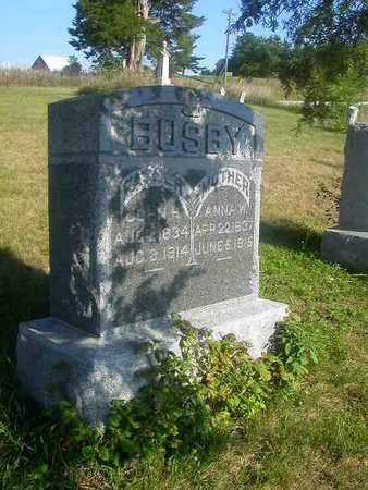 BUSBY, ANNA W. - Washington County, Iowa | ANNA W. BUSBY