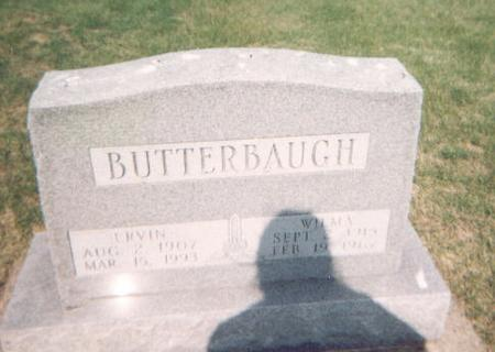 BUTTERBAUGH, ERVIN - Washington County, Iowa | ERVIN BUTTERBAUGH