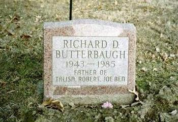 BUTTERBAUGH, RICHARD D. - Washington County, Iowa | RICHARD D. BUTTERBAUGH