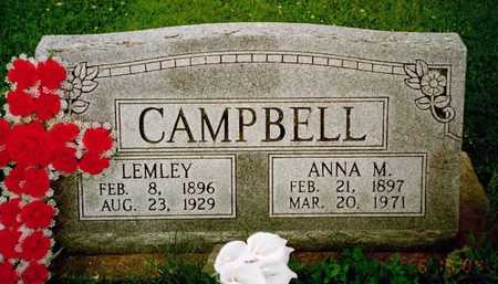 CAMPBELL, ANNA - Washington County, Iowa | ANNA CAMPBELL