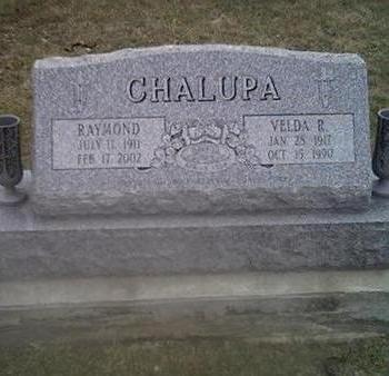 CHALUPA, VELDA - Washington County, Iowa | VELDA CHALUPA
