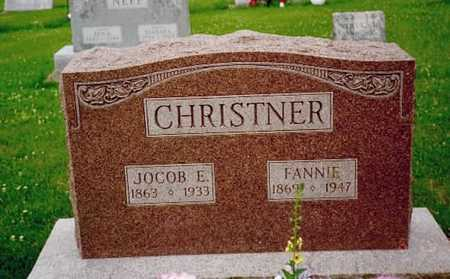 CHRISTNER, FANNIE - Washington County, Iowa | FANNIE CHRISTNER